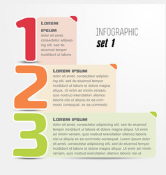 Options web design infographic trendy style vector image