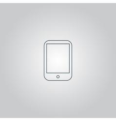 Modern digital tablet PC icon vector image vector image