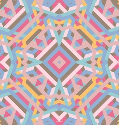Abstract geometric background pastel color vector