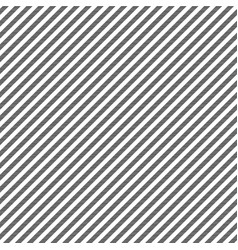 Black white striped fabric texture seamless vector