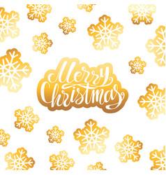 christmas holiday poster vector image