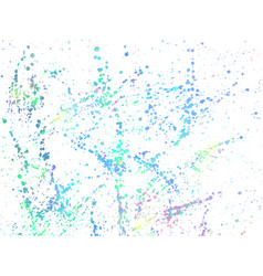 Color ink stains grunge background vector