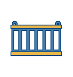 Container icon image vector