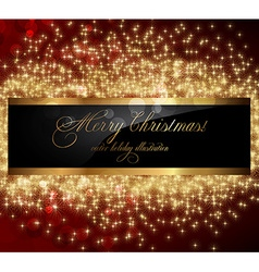 Elegant Christmas Background with Text Space vector