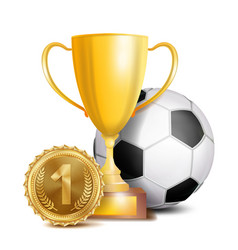 football award sport banner background vector image
