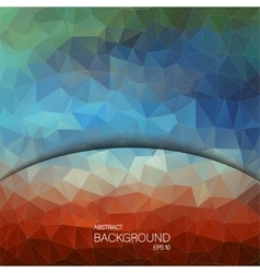 Geometric colorful background Design for web vector image
