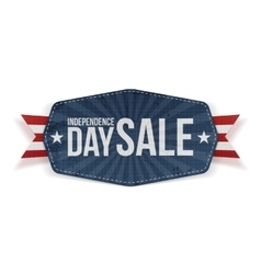 Independence Day Sale paper Banner vector image