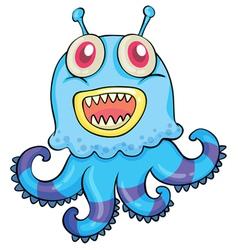 monster vector image