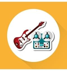 music design editable vector image