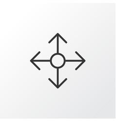 Navigation icon symbol premium quality isolated vector