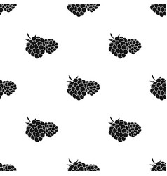 raspberry sweet fruitfruit single icon in black vector image