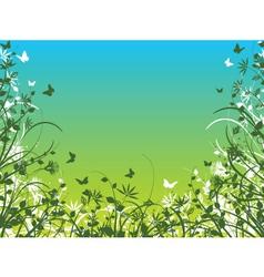 Spring foliage vector