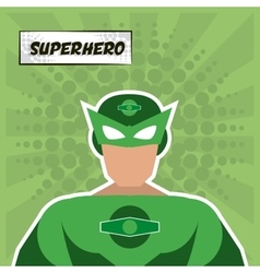 Superhero icon Cartoon design graphic vector image