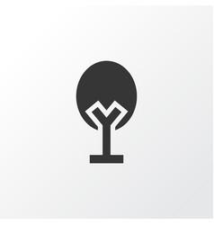 nature icon symbol premium quality isolated tree vector image