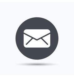 Envelope icon Send message sign vector image vector image