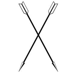Arrow weapon vector image