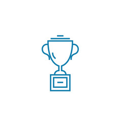 award for success linear icon concept award for vector image