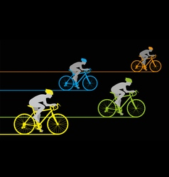 Bicycle Sprint vector