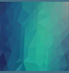 Blue polygonal background triangular pattern low vector