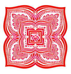 Chakra sacral symbol vector