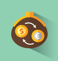 currency exchange vector image