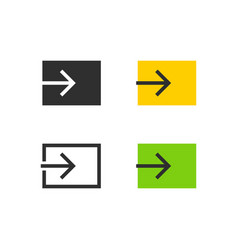 Input source icons vector