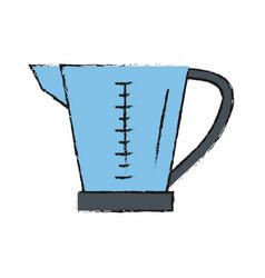 Measuring cup vector