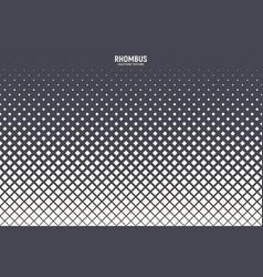 rhombus halftone abstract geometric technology vector image