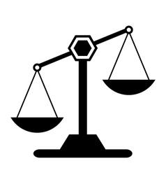 Scale icon vector