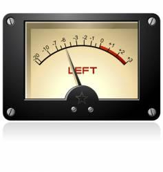 Signal meter vector