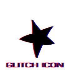 starfish icon flat vector image