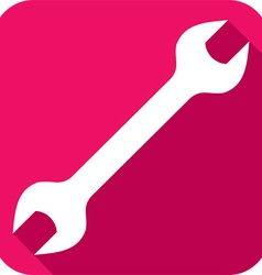 Wrench Tool Icon vector image