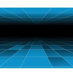 futuristic abstract vector image vector image