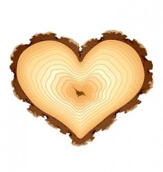 heart shape design element vector image
