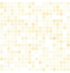 Sequins dotted iridescent pattern vector image vector image