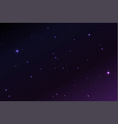 space stars background of the vector image