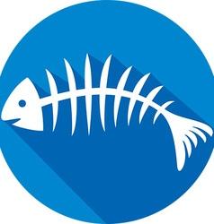 Fishbone Icon vector image