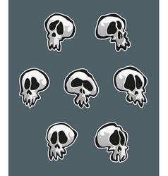 7 Skulls vector