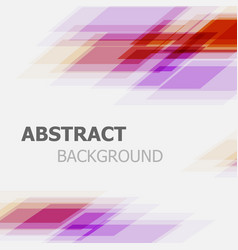 Abstract purple and red business straight line vector