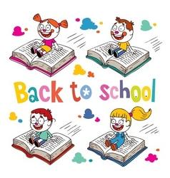 Back to school 3 vector