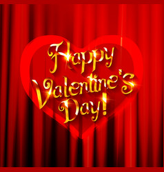 background for valentine s day vector image