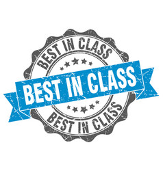 Best in class stamp sign seal vector