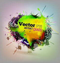 Chaotic Abstract Background vector image