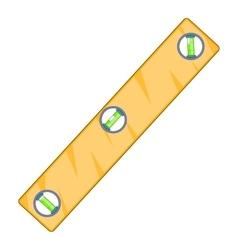 Level measurement icon cartoon style vector image vector image