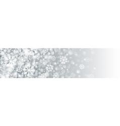 merry christmas banner blank design template vector image