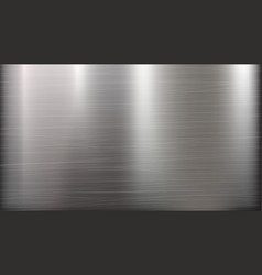 Metal abstract technology background polished vector