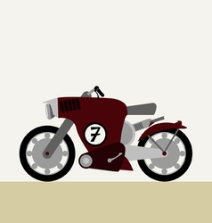 Motorcycle concept vector