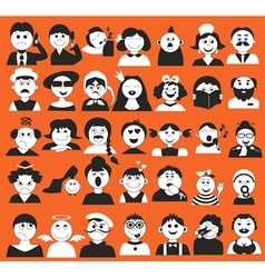 people and age vector image