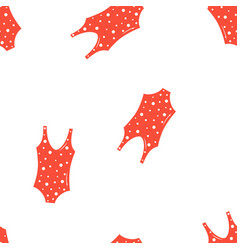 seamless pattern with swimsuits vector image