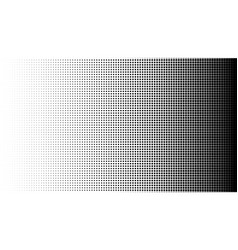 halftone pattern background square spot shapes vector image